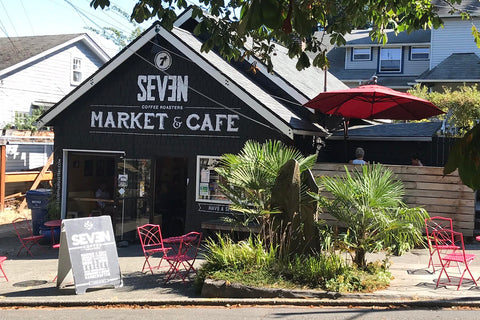 Seven Market & Cafe, nestled along historic Ravenna Park