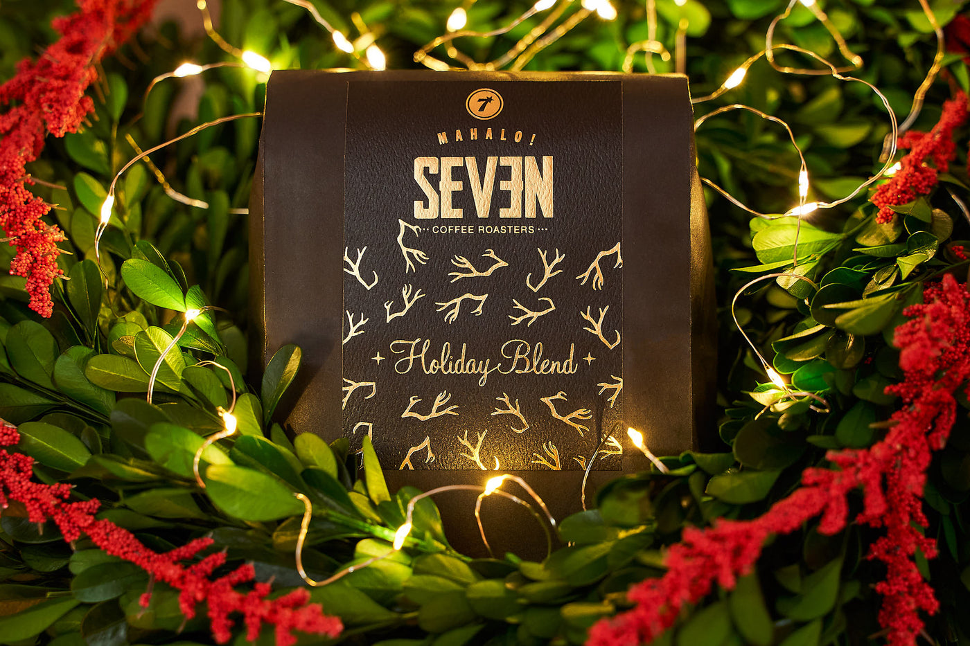 seven coffee roasters holiday blend