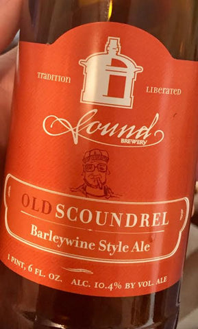 Sound Brewery Old Scoundrel Front Label