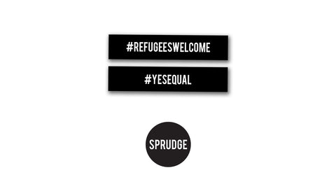 Sprudge ACLU Fundraiser #REFUGEESWELCOME