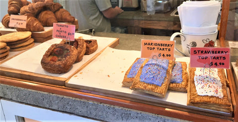 Top Tarts and Baked Goods at Sod House Bakery