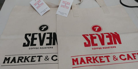 Seven Market & Cafe Ethical Totes