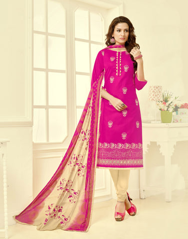 Lovely Cotton Salwar Suit Collection - C