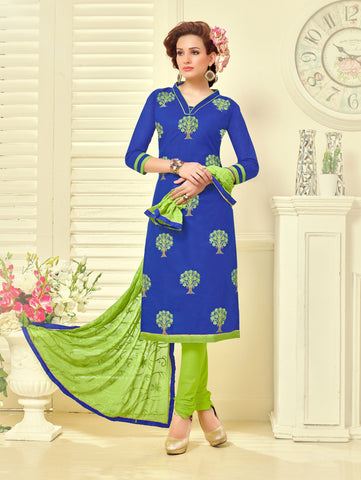 Lovely Cotton Salwar Suit Collection - D
