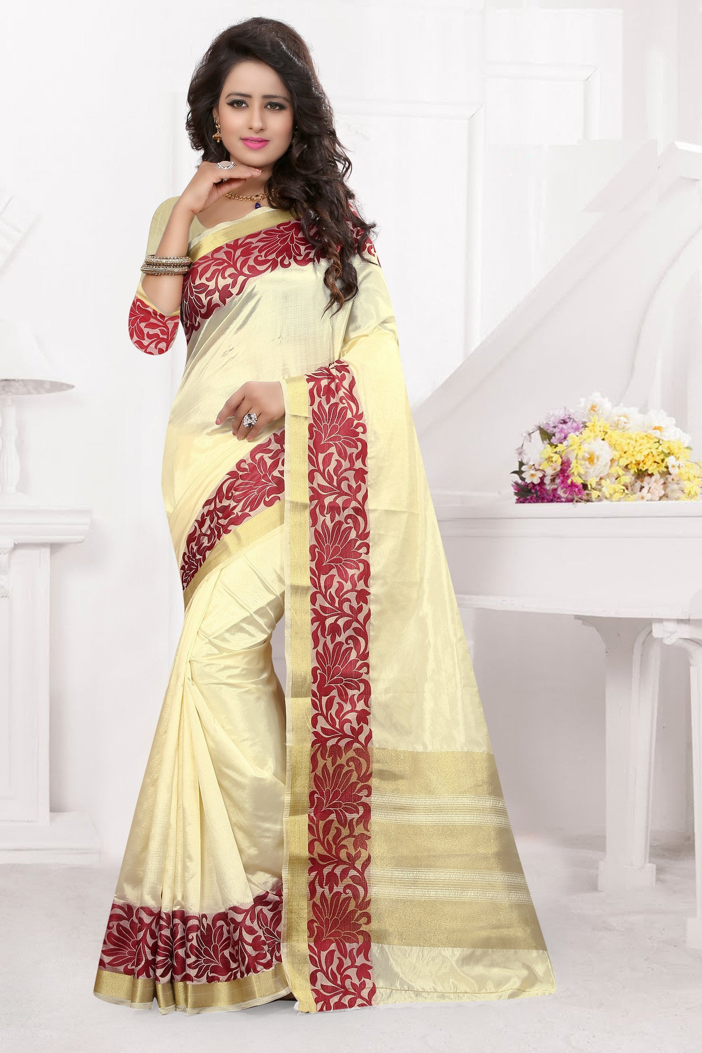 Beautiful Multi Color Silk Sarees.