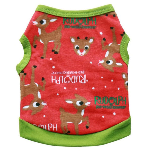 Cozy Holiday Vest Christmas theme