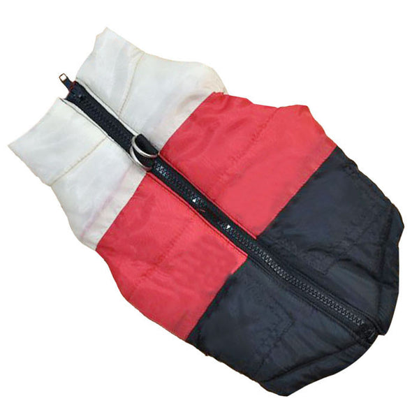 Winter waterproof dog jacket, top zip