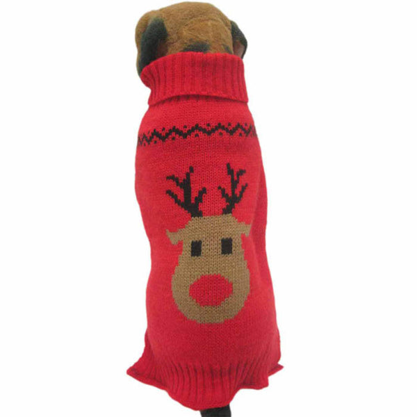 Holiday theme winter warm sweater in two color choices