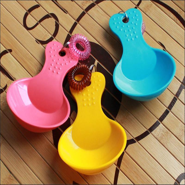 Dog Food Scoop with Lanyard