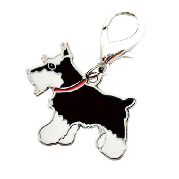 Dog Tag Metal Enamel ID Disc