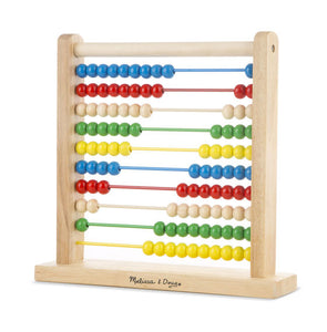 Melissa & Doug Abacus Classic Wooden Toy