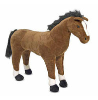 Melissa & Doug Horse Giant Stuffed Animal