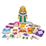Melissa & Doug Princess Elise Magnetic Dress-Up Set
