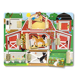 Melissa & Doug Magnetic Hide & Seek Farm