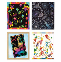 Melissa & Doug Scratch Art Combo 4-Pack