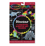 Melissa & Doug Scratch Art Dinosaur Pack