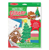 Melissa & Doug Mess Free Glitter - Christmas Tree & Gingerbread House