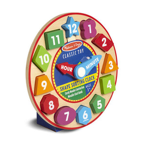 Melissa & Doug Shape Sorting Clock - Early Learning