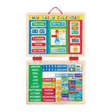 Melissa & Doug My Magnetic Daily Calendar