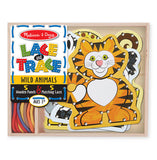 Melissa & Doug Lace & Trace Wild Animals