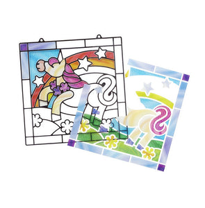 Melissa & Doug Stained Glass Made Easy - Unicorn