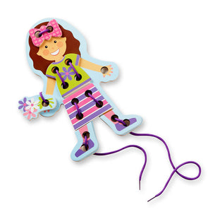 Melissa & Doug My First Lacing Doll