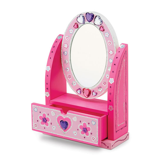 Melissa & Doug Decorate-Your-Own Wooden Vanity
