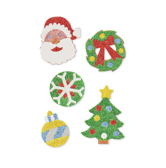 Melissa & Doug Mess Free Glitter - Christmas Stickers