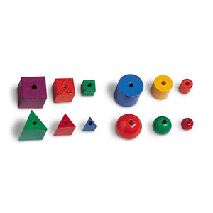 Wooden Attribute Beads (Set of 144)