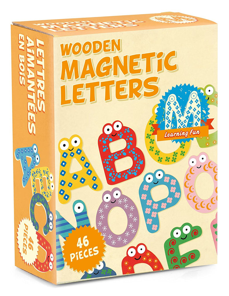 Magnetic Wooden Letters
