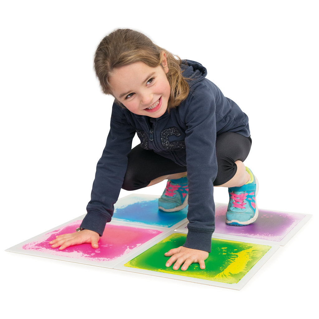 Sensory Floor Tiles - Set of 4 - 30cm x 30cm