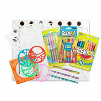 Scentos 50 Piece Colouring Workstation