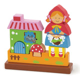 Magnetic Stacking Puzzle - Little Red Riding Hood