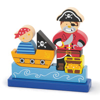 Magnetic Stacking Puzzle - Pirate Padraig
