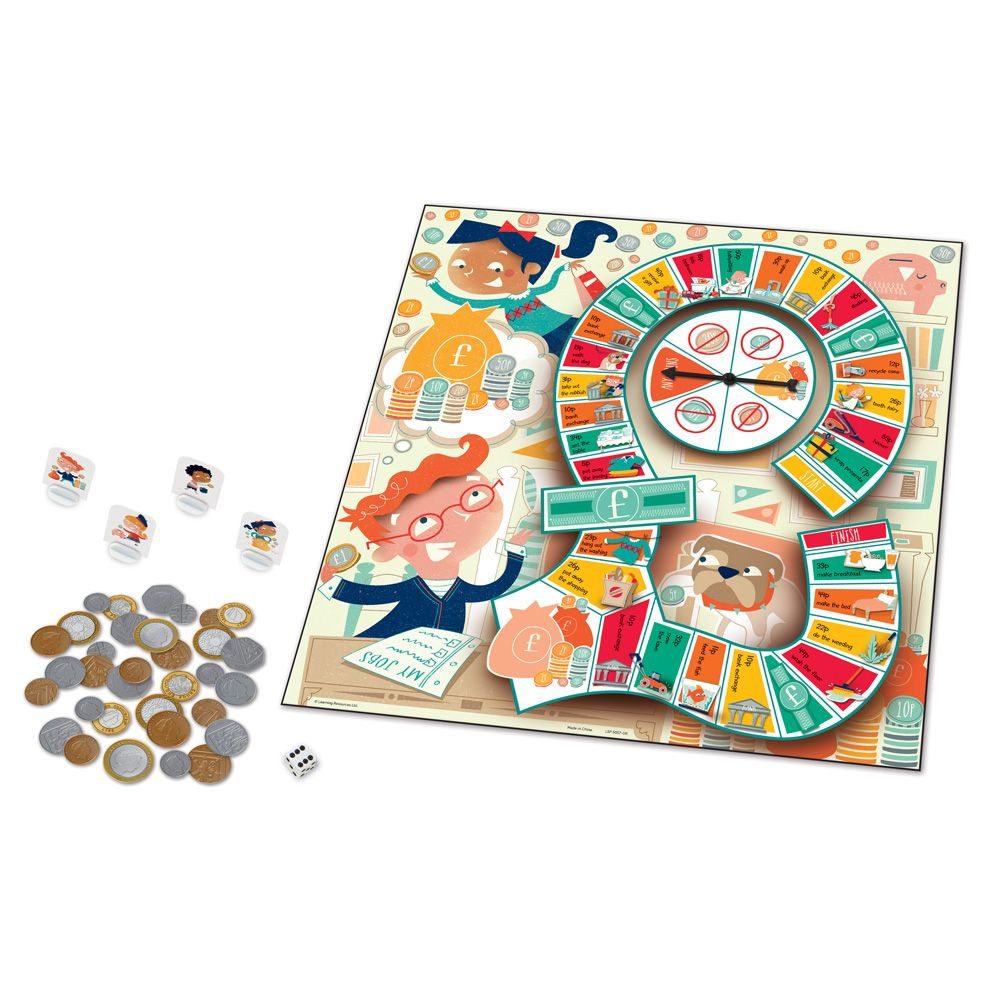 Money Bags™ A Coin Value Board Game