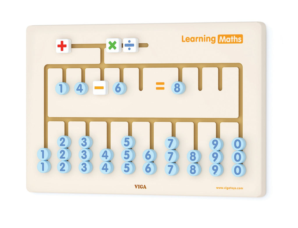 Learning Maths Wall Game