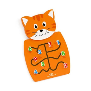 Wall Toys Kitten - Matching Numbers