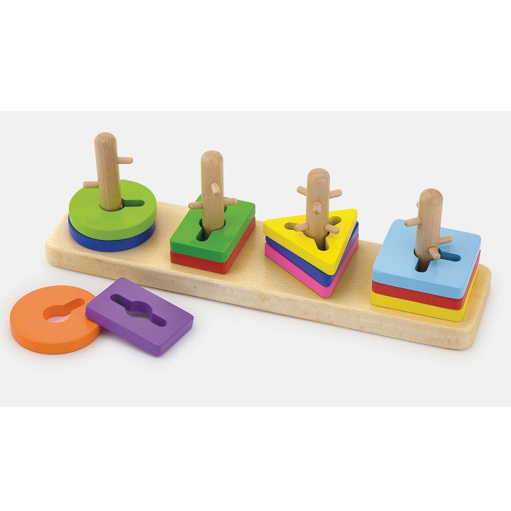 Creative Shapes Stacking Board