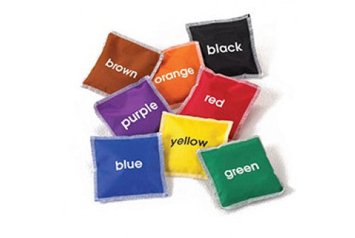 Colour Name Bean Bags - Pack of 8