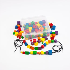 Wooden Attribute Beads - Pack of 144