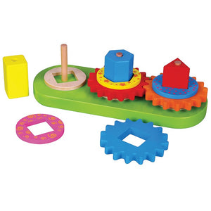 Stacking Shapes with Gears