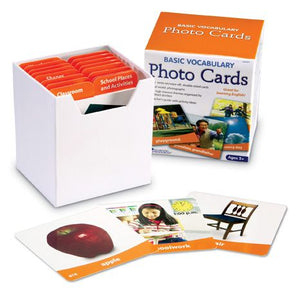 Basic Vocabulary Photo Cards Set