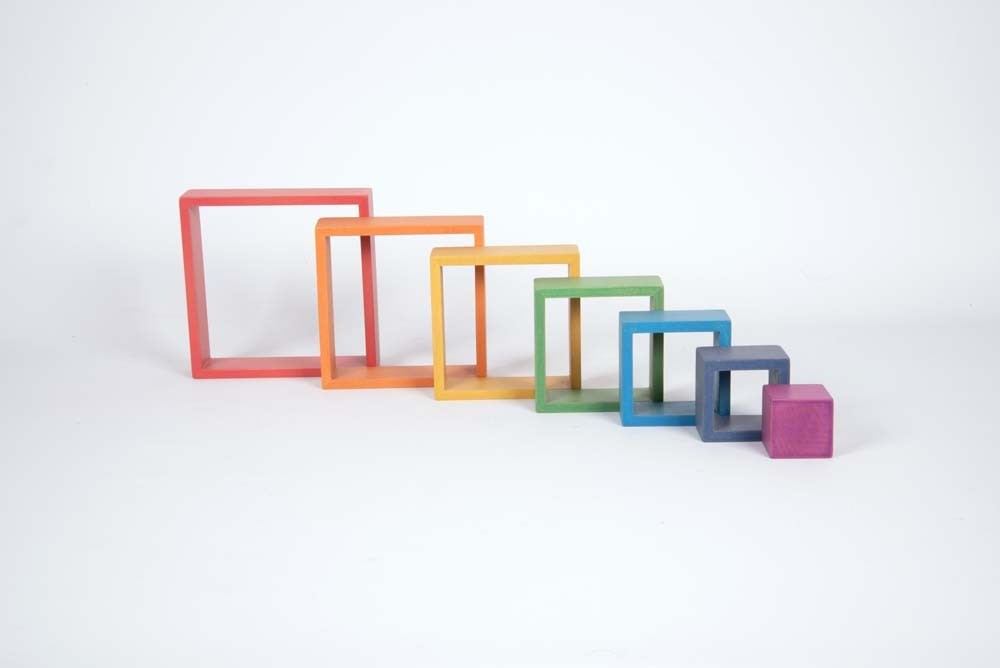 Rainbow Architect Squares - Pack of 7