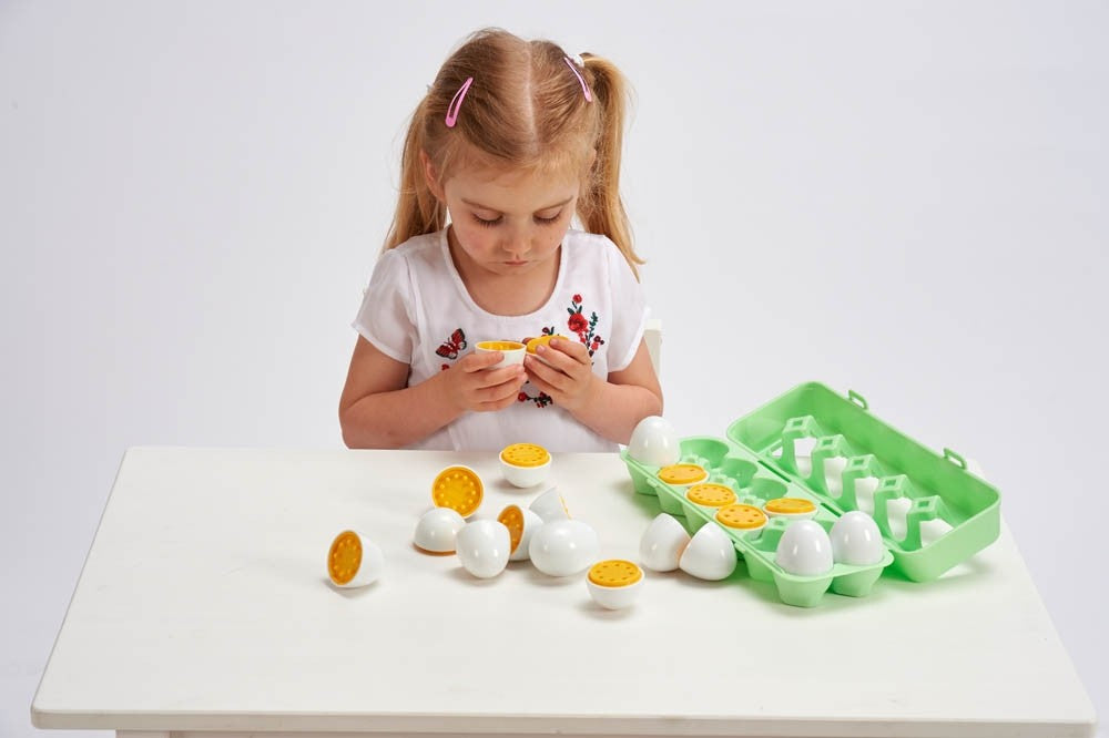 Number Matching Eggs - Pack of 12