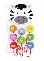 Activity Wall Game - Zebra Shape Sorter