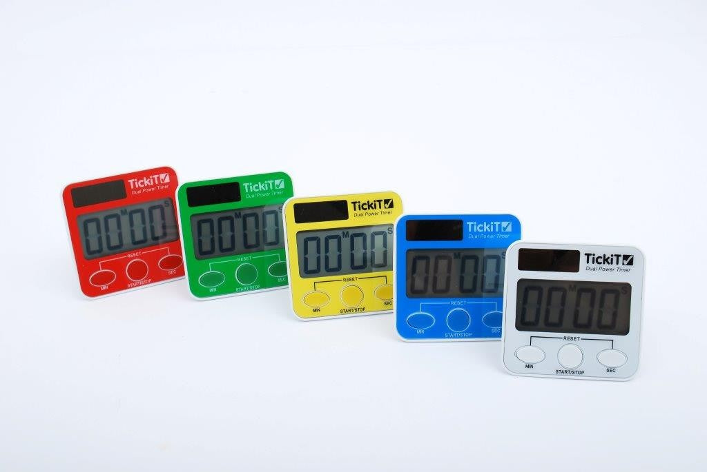 Dual Power Timer - 5 Colours