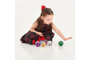 Sensory Rainbow Glitter Balls - Pack of 7