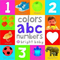 Bright Baby Colors, ABC, Numbers