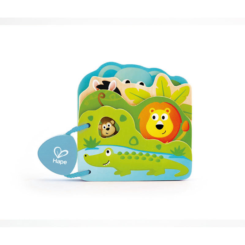 Hape Baby's Wild Animals Book