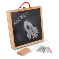 3 IN 1 Activity Case - Chalkboard, Dry Wipe Board and Magnets